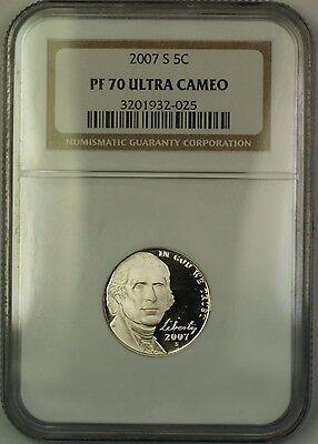 FREE SHIPPING! Gem Deep Cameo 1994-S Proof Jefferson Nickel