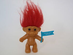 russ red haired troll valentine doll toy you re very special blue
