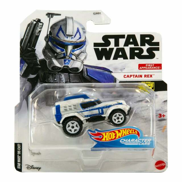 Hot Wheels Character Cars Star Wars Clone Wars Captain Rex First Appearance