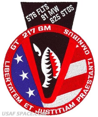 Minuteman III USAF 576th FLIGHT TEST SQ GLORY TRIP 217GM VAFB ORIGINAL PATCH