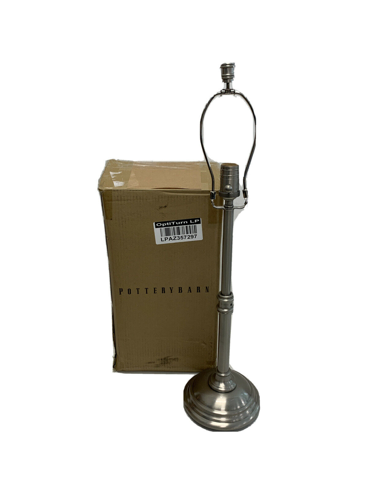 Pottery Barn Photographer S Tripod Floor Lamp Antique Nickel Finish For Sale Online Ebay