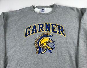 Garner-Spartans-Sweatshirt-Mens-2XL-North-Carolina-High-School-Student-Alumni