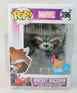 Guardians of the Galaxy Funko POP PX Exclusive Rocket Raccoon #396 Marvel