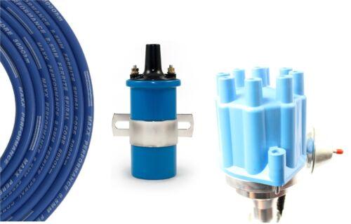 Billet Distributor Spark Plug Wires Coil Chrysler Dodge Plymouth 413 426 440