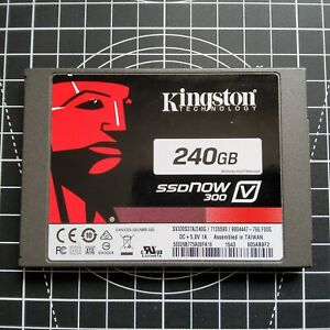 Kingston 240GB SSDNow-300 Internal 2.5in SV300S37A/240G SSD Solid State Drive UK
