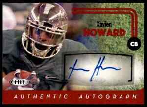 2016-HIT-RED-DOLPHINS-XAVIEN-HOWARD-RC-AUTO-BAYLOR-BEARS-A15