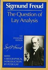 Question Of Lay Analysis, Freud, Sigmund; Tr. By James Strachey, Very Good Book