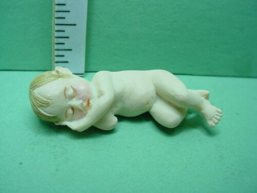 Miniature Sleeping Baby  Falcon #A3338-1//12th Scale Made of Resin