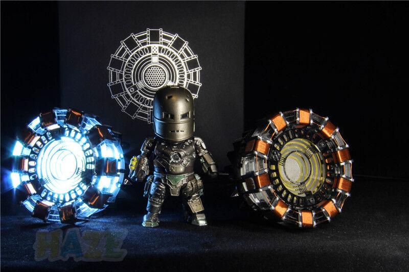 Nouveau DIY Marvel The Avengers Iron Man Tony Arc Réacteur Prop pour Cosplay