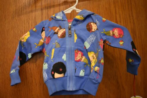Harajuku Mini Mermaid Sweatshirt  Girls Toddler