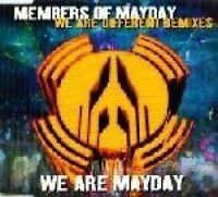 Members of Mayday We are different (Remixes, 1994) [Maxi-CD]