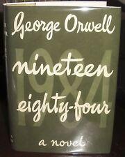 George Orwell 1984 Nineteen Eighty-Four 1949 HC green DJ UK 1st ed first print