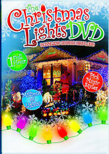 CHRISTMAS LIGHTS DVD: VIRTUAL HOLIDAY DVD! PICK MUSIC STYLES! 1 FULL HOUR (2010)