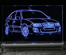 ROVER 25 als AutoGravur auf LED Leuchtschild