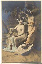 Erotik, zwei Damen, nackte Dame, um 1900/10