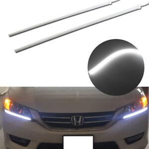 2013 - 2015 Honda Accord Headlight DRL DIY LED Strip Light (Even Illuminating)
