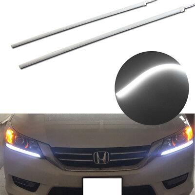 For 13-15 Honda Accord Headlight DRL DIY LED Strip Light Even Illuminating