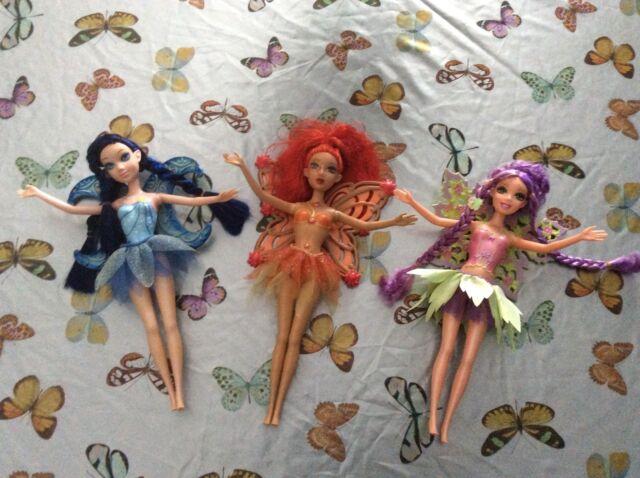 Lotto bambole assortite fatine fairy barbie   APRI!!!!!...vintage.doll