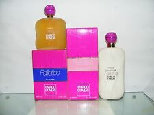 PAILLETTES .Coveri..ORIGINALE VINTAGE ( 2 pezzi E.Toilette 100ml+ Latte Corpo)