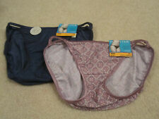 Size 7 Large Vanity Fair String Bikini Panties Lemon Glow Yellow 18108 NEW NWT