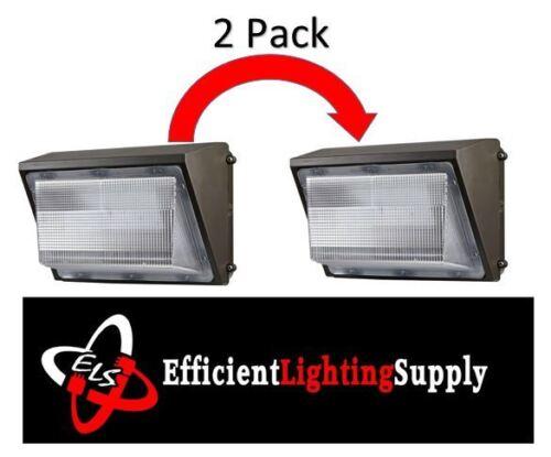 2pcs 60W LED Wall Pack 5000K 7200 Lumens High Quality US Seller 08-60WLEDWP