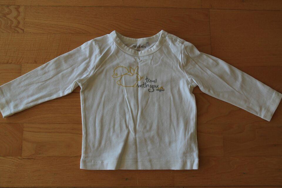 Bluse, Hvid - langærmet, Noppies