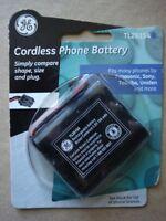 Ge Cordless Phone Battery Tl26154 Panasonic Sony Toshiba Uniden 3.6 V 700 Mah