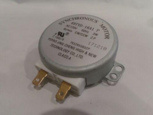 PANASONIC F63265G60AP 49TYD-16A1 Microwave Synchronous Motor NN-SN77HS