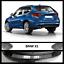 Acciaio BMW X1 F48 2015Up PARAURTI POSTERIORE CROMATO PROTETTORE Scratch Guard S