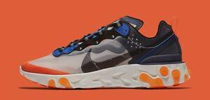 size 40 c5eeb 5dd55 Image is loading Nike-React-Element-87-size-13-Thunder-Blue-