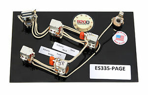 wiring harness for epiphone dot 335 920d gibson es    335    jimmy page    wiring       harness    with  920d gibson es    335    jimmy page    wiring       harness    with