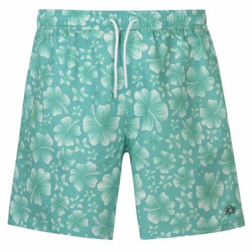 Hot Tuna Mens Printed Shorts Swim Pants Trousers Bottoms Lightweight Print