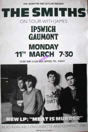 The Smiths 0497 Vintage Music Poster Art