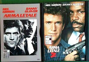 ARMA-LETALE-1987-ARMA-LETALE-2-1989-2-DVD-CUSTODIA-SNAPPER-CASE-WARNER