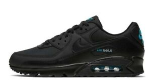 Nike-Air-Max-90-Black-Multi-Size-US-Mens-Athletic-Running-Shoes-Sneakers