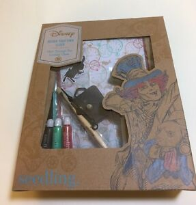 Seedling-Disney-039-s-Alice-Through-The-Looking-Glass-Design-Your-Own-Clock-Kit