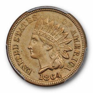 1864-Copper-Nickel-Indian-Head-Cent-PCGS-MS-62-Uncirculated-CN-Cert-7811