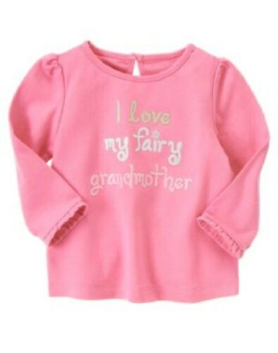 NWT Gymboree Baby Toddler Girl Tee Top Options Lines A-K