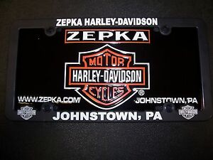 Zepka Harley-Davidson Licences Plate and Licence Frame | eBay