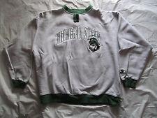 Vintage MSU Michigan State Spartans Waffle Knit Starter Sweatshirt - Size XL