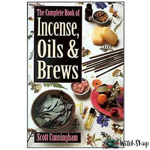 The-Complete-Book-of-Incense-Oils-amp-Brews-by-Scott-Cunningham-Wicca-Pagan-Witch