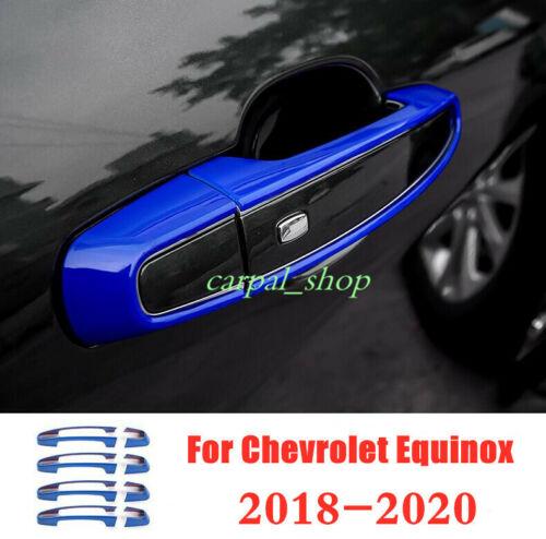 FIT For Chevrolet Equinox 2018-2020 ABS Car external Door handle cover trim*8PCS