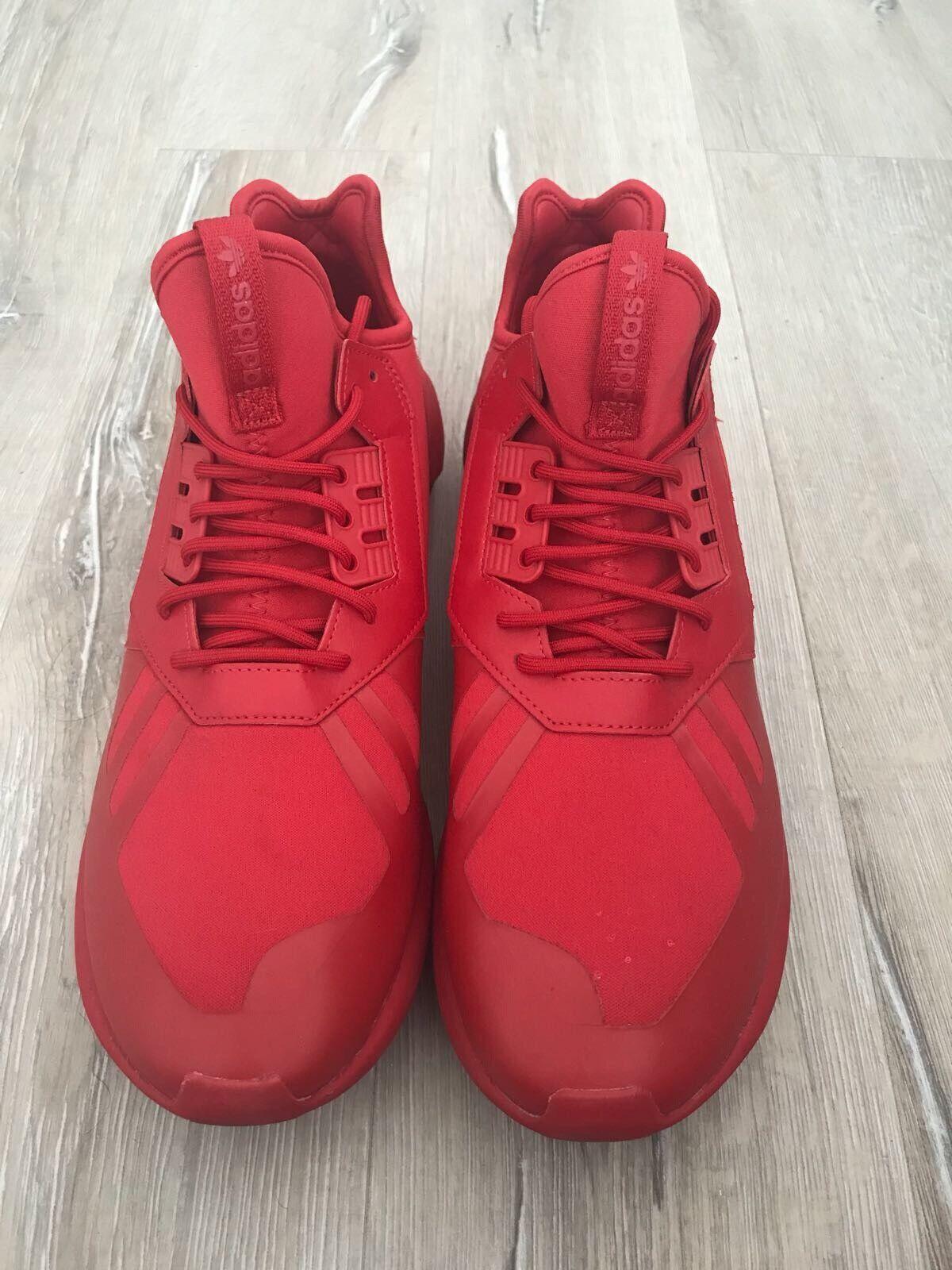 Adidas originali tubulare runner scarlet   ottobre rosso corsa spinta ultra sz 12   prezzo di sconto speciale    Uomo/Donne Scarpa