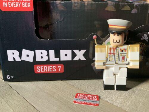 Roblox Series 7 Mystery Black Box New W// Code~Captain Inyo22