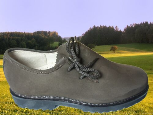 en chaussure Haferlschuh cuir Chaussure Demi Nubukleder Trachtenhalbschuh Schnürschuh 6HCqxB8