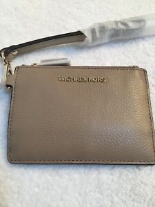 2ea5f6614b24 MICHAEL KORS Women Money Pieces Coin Purse Wristlet Wallet Ultra in ...