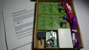 Morse-code-2-x-Micro-Key-with-practice-sounder-and-leads