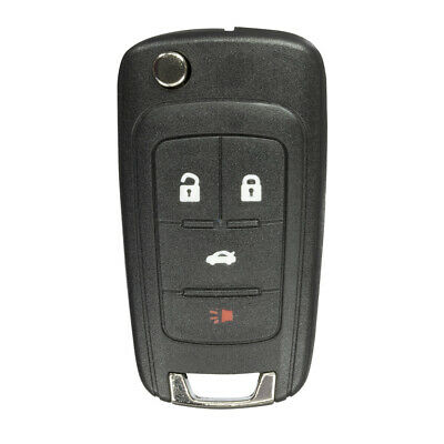 FikeyPro Keyless Entry Remote Key Fob for GMC Chevrolet Buick 4-Button OHT01060512 2 Pack