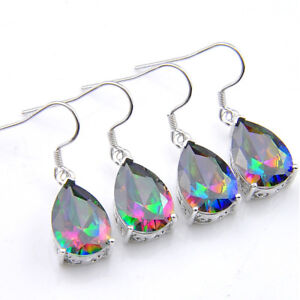 Rainbow Mystic Fire Topaz Gems Silver