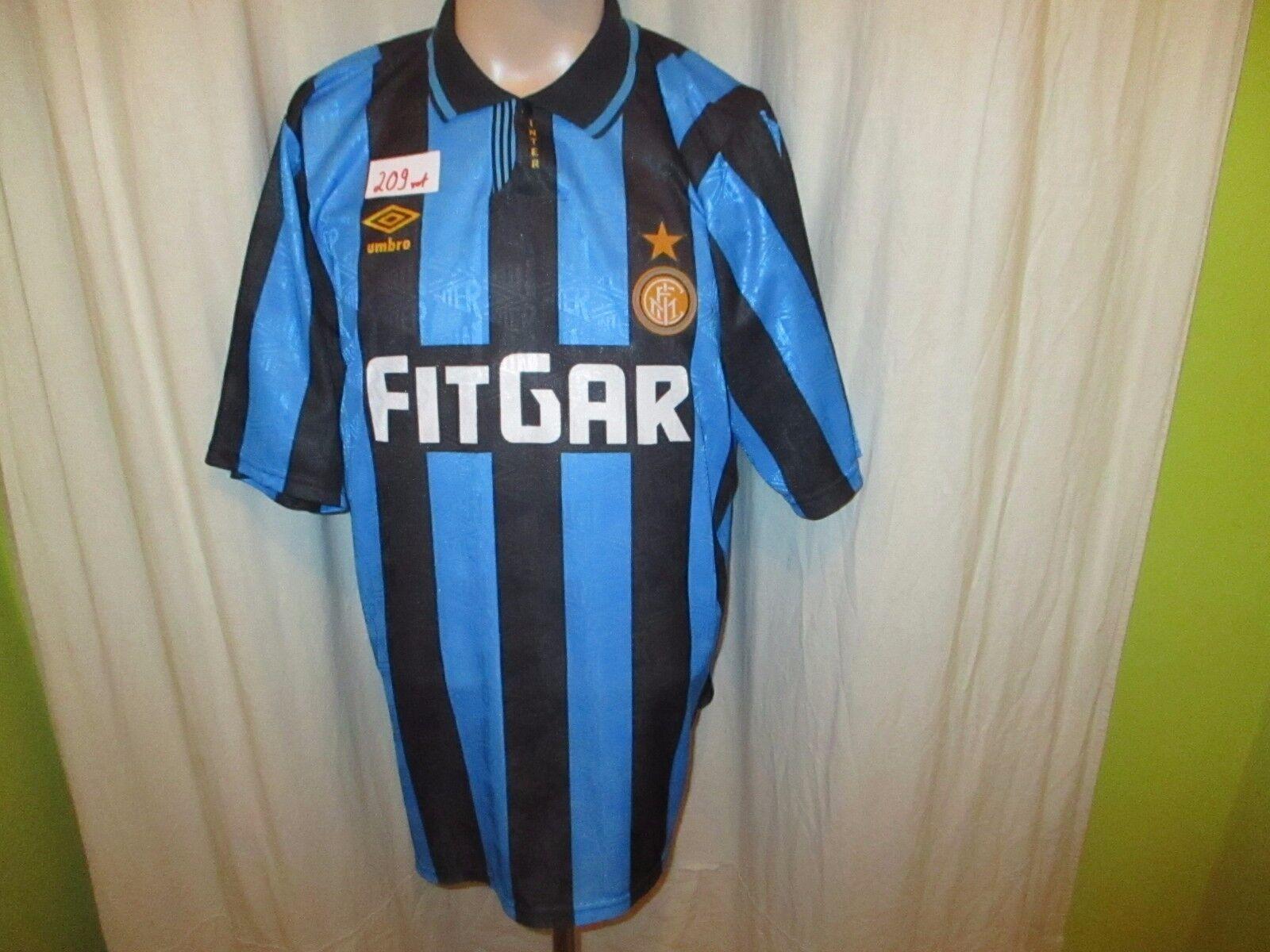 Inter Mailand Original Umbro Heim Trikot 1991 92  FITGAR  + Nr.11 Gr.XL    Shopping Online